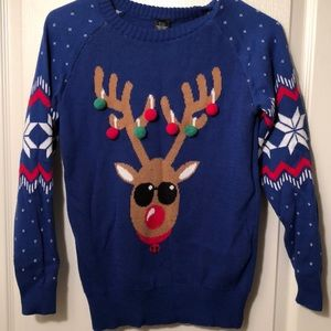 Sweaters - Ugly Christmas sweater with Deer